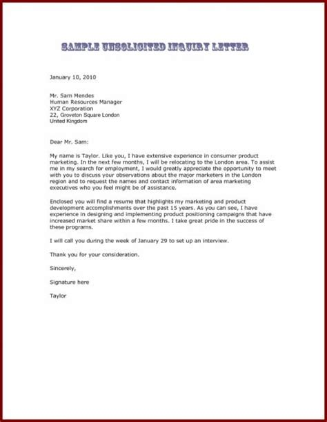 Cover Letter Set Up by Cover Letter Set Up