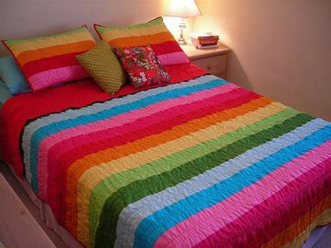 homeofficedecoration rainbow bedding  kids