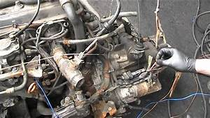 Vw Aaz 1 9 Td Engine Start Up On The Floor