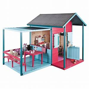 Maison Jardin Pour Enfant : feber chalet maison de jardin enfant achat vente holidays oo ~ Premium-room.com Idées de Décoration