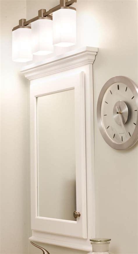 Recessed Medicine Cabinet With Mirror  Bathroom Redo