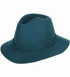 Kooringal Mid Brim Vista Felt Hat - Teal - Mens Hats