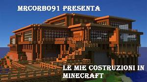 le mie costruzioni su minecraft ITA ViYoutube