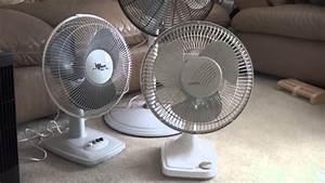 12 U0026quot  Lasko Oscillating Table Fan Model 2000 Again