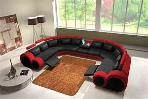 Sofa In U Form : jvmoebel ledersofa couch sofa ecksofa modell berlin iv u form sofas pinterest ledersofa ~ Markanthonyermac.com Haus und Dekorationen
