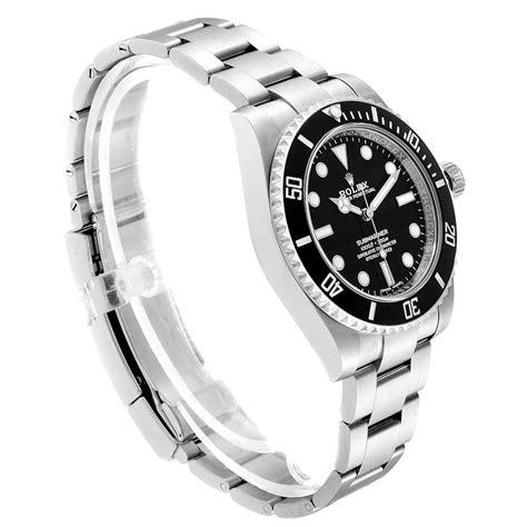 Rolex Submariner 40mm Ceramic Bezel Steel Watch 114060 Box ...