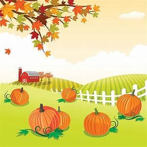 Pumpkin Patch Clip Art, Vector Images & Illustrations - iStock