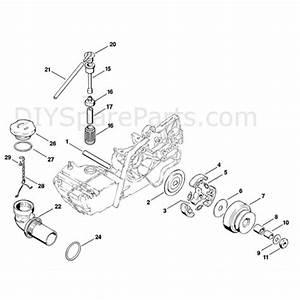 Stihl Ts 360 Disc Cutter  Ts360  Parts Diagram  C
