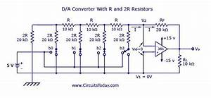 Digital To Analog Converters  D  A  Circuit Diagram World