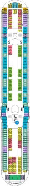 Navigator Of The Seas Deck Plan 2 by Navigator Of The Seas Deck 9 Cruise Critic