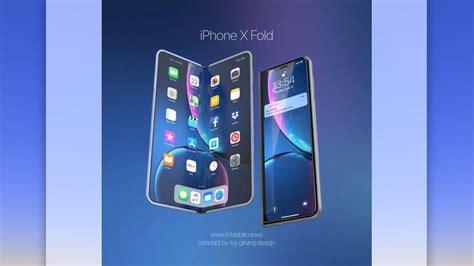 foldable iphone  release date rumours macworld uk