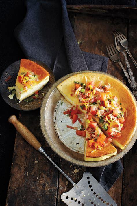 omelette au  soufflee au fromage
