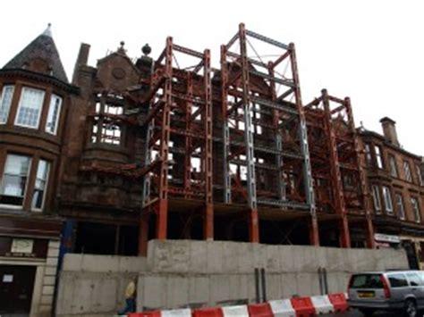 facade retention burnfield demolition