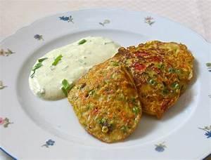 Gemüse Pflanzen Was Passt Zusammen : kleine gem se pfannkuchen mit curry joghurt dipp ~ Lizthompson.info Haus und Dekorationen