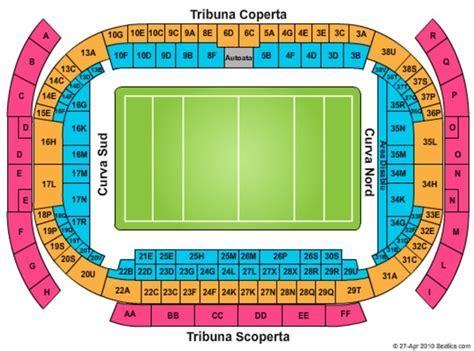 Stadio Olimpico Seating Plan   Image Mag