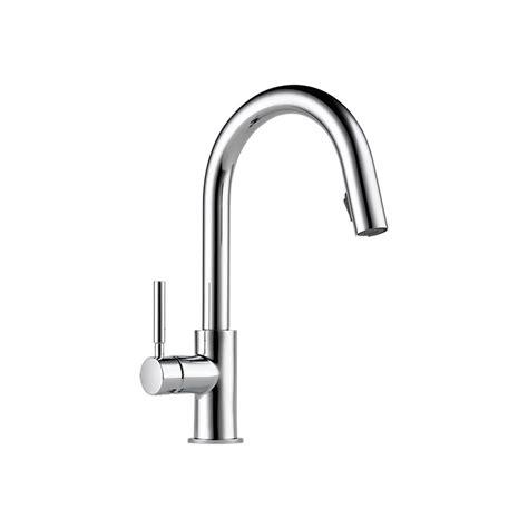 Brizo Solna Kitchen Faucet by Brizo 63020lf Solna Single Handle Pull Kitchen Faucet