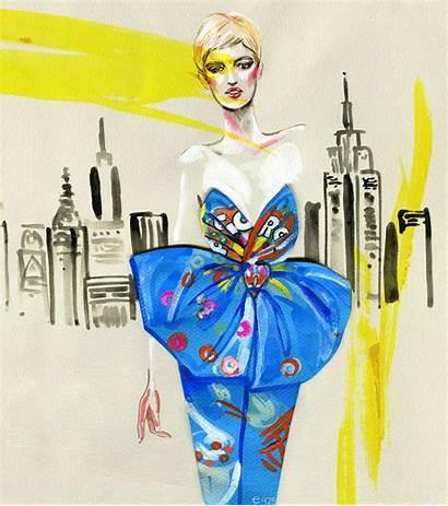 Illustration Morrison Meagan Fast Moschino Fashionary Illustrator