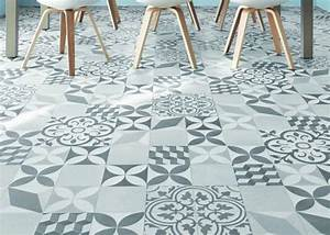 Sol Vinyle Carreau Ciment : rev tement sol cuisine les possibilit s sols floors pinterest ~ Dode.kayakingforconservation.com Idées de Décoration
