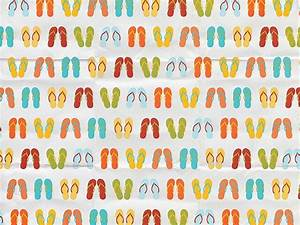 Art Paper Patterns : Colorful Slippers Background 8 ...