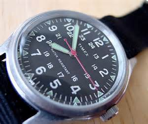 Vintage Military Timex Watches