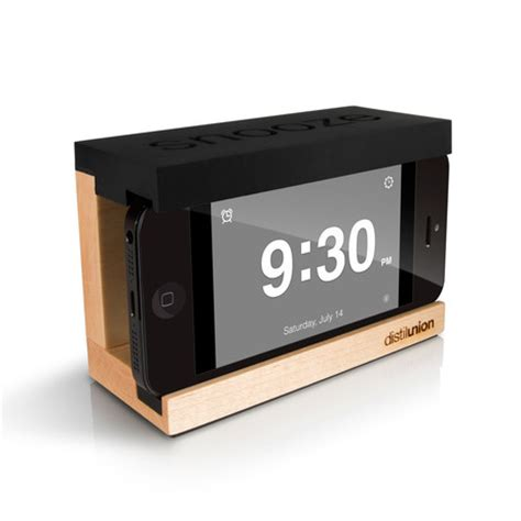 how is snooze on iphone snooze iphone alarm dock touch of modern