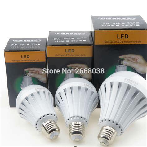 led intelligent emergency bulb smart led emergency bulb