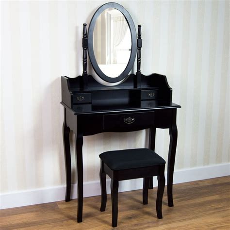 chaise coiffeuse nishano dressing table drawer stool mirror bedroom makeup