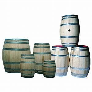 Tonneau En Bois : tonneau en bois de 200 litres holbec ~ Melissatoandfro.com Idées de Décoration