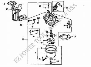 Huayi Carburetor Parts Diagram