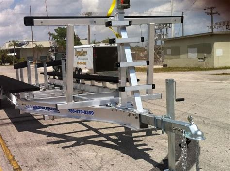 Catamarans For Sale Boat Trader by New 2015 All Marine Trailers Catamaran Trailer Trailers