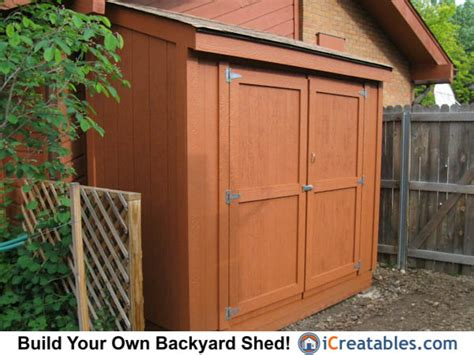 lean to shed lean to shed plans easy to build diy shed designs