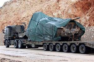 More M60TM tanks on the way to Turkey's border city Kilis ...