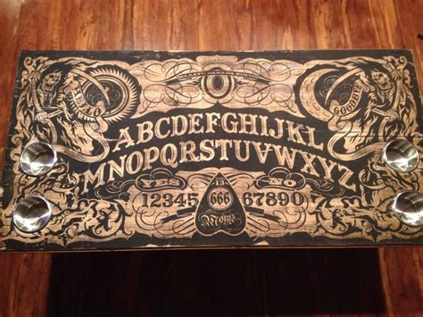 table de ouija ouija coffee table interiors pyrogravure