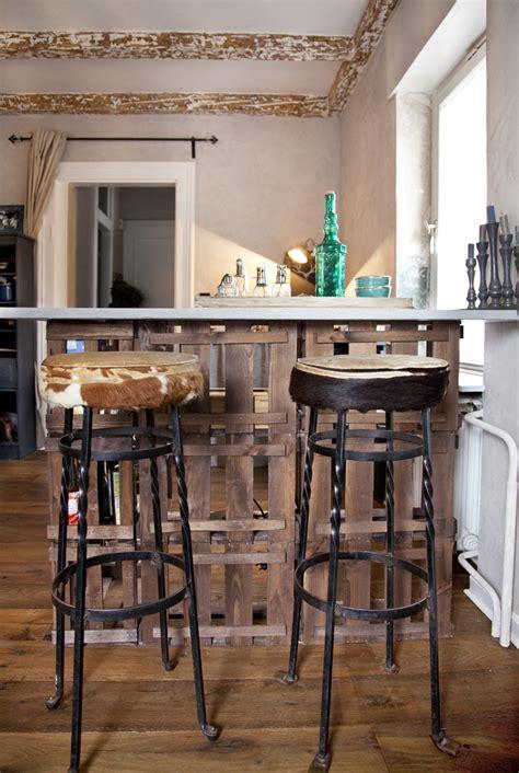 Bett Aus Weinkisten by Shabby Chic In Einem Kleinen Appartement Farbefreudeleben
