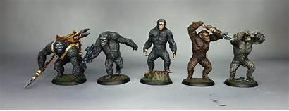 Apes Planet War Board Miniatures Kickstarter 50th