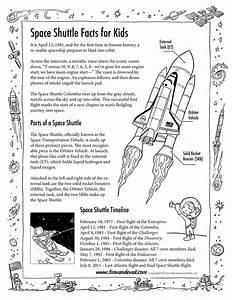 Space Shuttle Facts for Kids Handout - Tim van de Vall