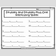 {free} Doubles And Near Doubles Task Cards By Amanda Zanchelli Tpt