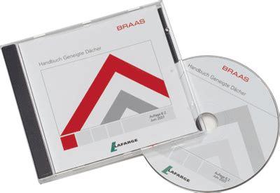 Handbuch Geneigtes Dach by Braas Handbuch Geneigte D 228 Cher Aktualisiert Auf Cd Rom