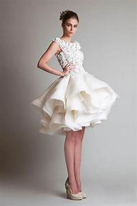 puffy wedding dresses ideas wedding and bridal With wedding dress short