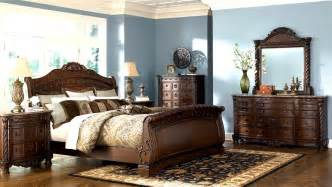 bedroom furniture discounts ashley north shore 6pc sleigh