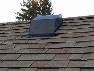 Bathroom vent through existing roof vent home for Cupola vent