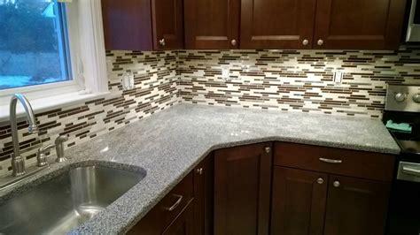 how to install glass mosaic tile backsplash in kitchen installing glass mosaic tile backsplash the clayton design