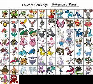 kalos pokemon list images