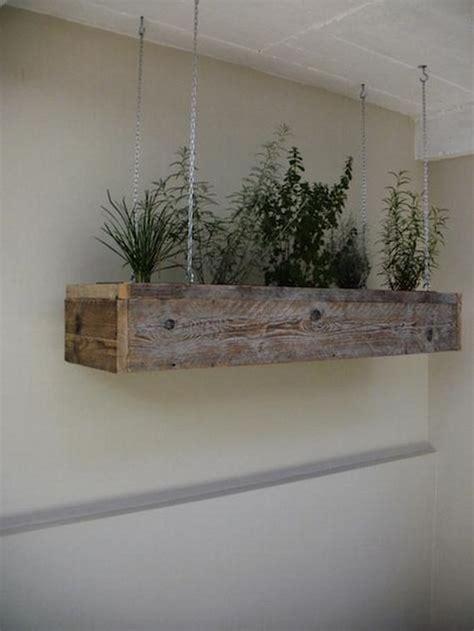 Asian Wood Planter Box