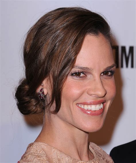 hilary swank hairstyles hair cuts  colors