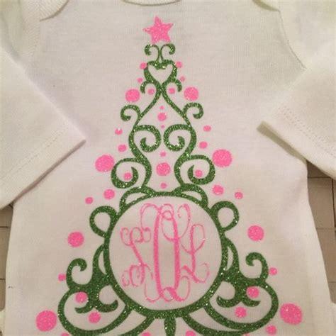 christmas tree monogram cuttable frame christmas shirts vinyl christmas monogram silhouette