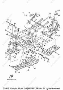 Yamaha Atv 2009 Oem Parts Diagram For Frame