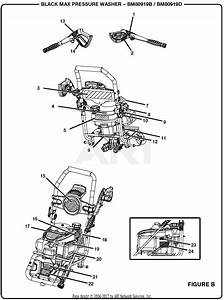 Homelite Bm80919d 2700 Psi Pressure Washer Parts Diagram