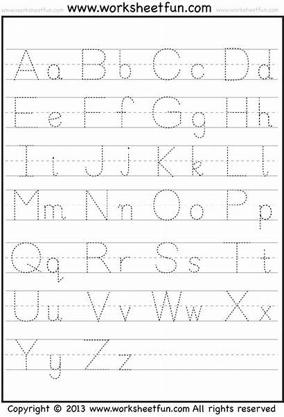 Abc Pages Letters 123 Tracing Printable Worksheets
