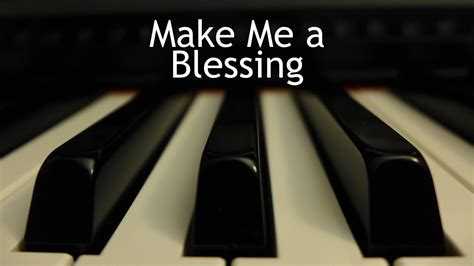 Make Me A Blessing  Piano Instrumental Hymn With Lyrics. Retail Store Manager Resume. Sample Resume Pdf. College Resume Template For High School Seniors. Resume Template Google Doc. Recovery Room Nurse Resume. Professional Competencies Resume. What All Should Be Included In A Resume. Objective Examples On Resume